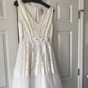 Kate spade Madison ave white lace dress size 6